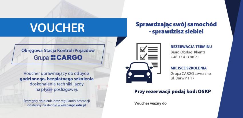 VOUCHER szkoleniowy Okręgowej Stacji Kontroli Pojazdów CARGO
